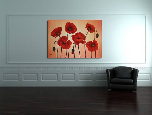 Energetický obraz, Maky, 100x70cm
