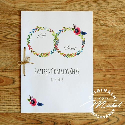 Svatební omalovánky - TYP 20