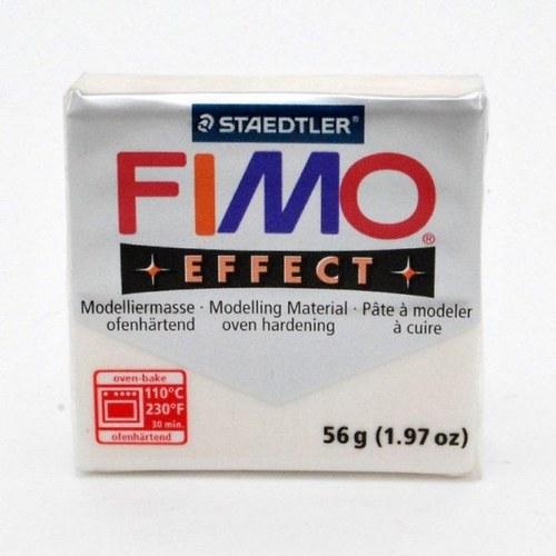 FIMO Effect / Glitter bílá (052)