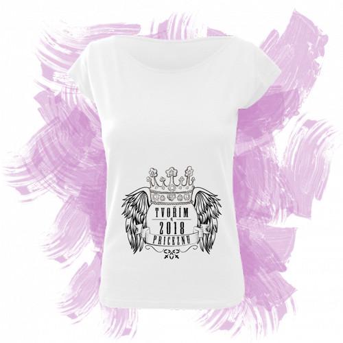 Tričko elegance s motivem - tvořím princeznu 4