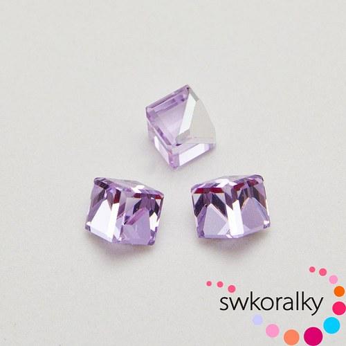 KOSTIČKY seřízn. 6 se SWAROVSKI ® ELEMENTS violet