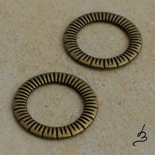 Ozdobný kroužek SZ - 2 ks