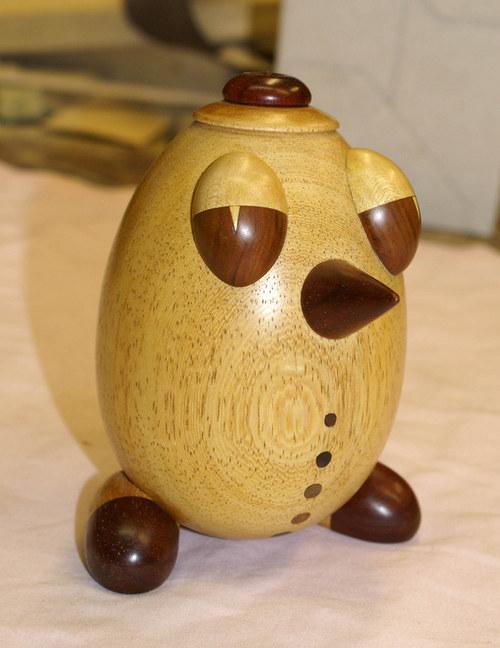 Vejce dřevěné - klaun
