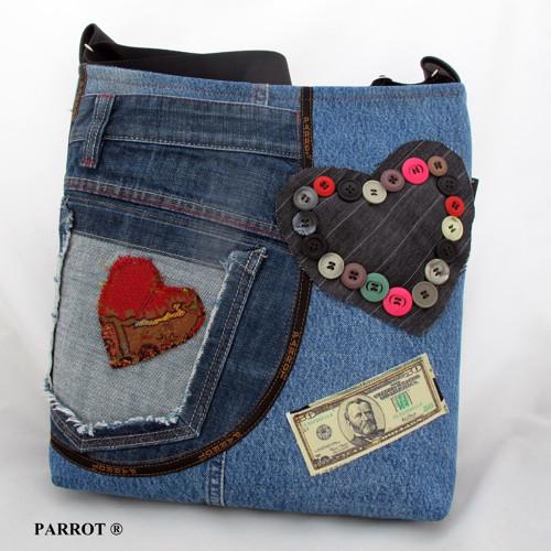 LOVE JEANS BAG * PARROT®