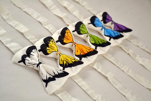 Motýlek s motýlem - malý