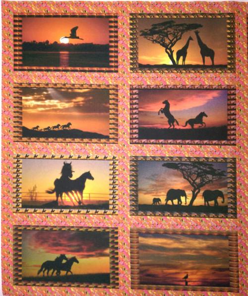 bavlněný panel - sada 28 x 34 cm