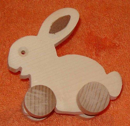zajíc - dřevěná hračka