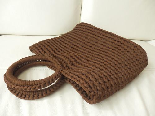 Háčkovaná kabelka- taška