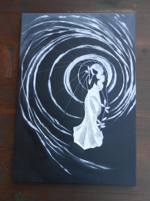 Space lady - ORIGINÁL