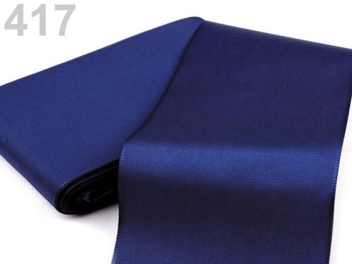 Taftová stuha 108mm (10m) - modrá berlínská