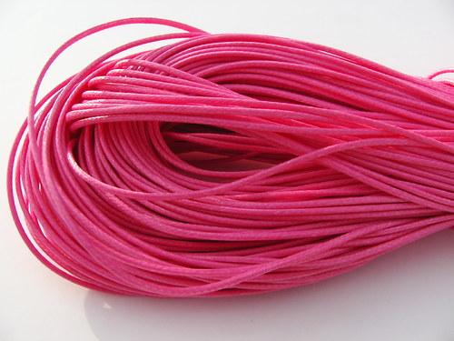 Nylonové lanko, růžové 1 mm