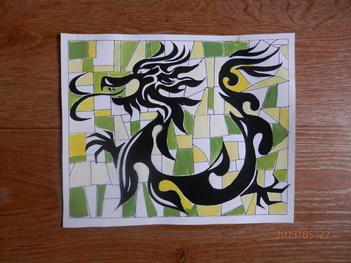 Mozaika -  Domovní znamení