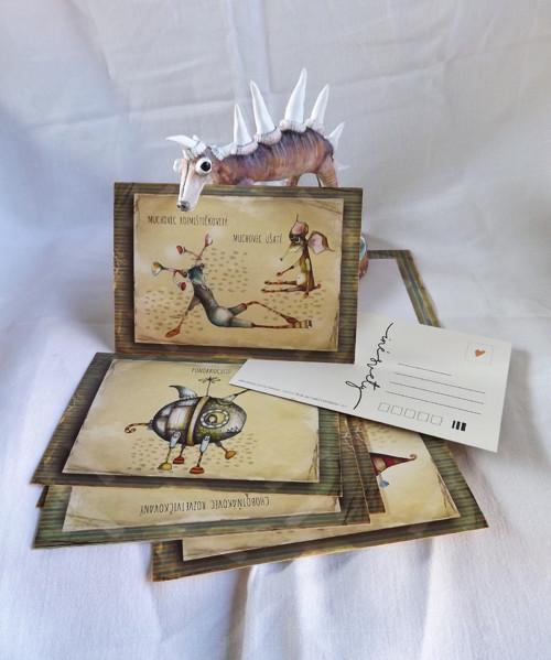 Zvieratkovce - pohľadnice 10ks