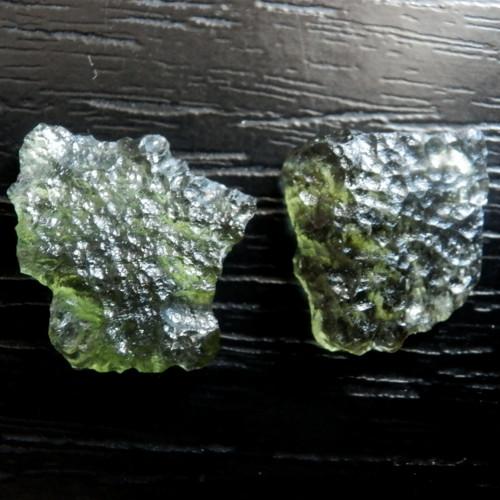 Vltavíny - pár (nejen) do náušnic
