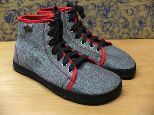 Celoroční kotníčkové barefoot boty