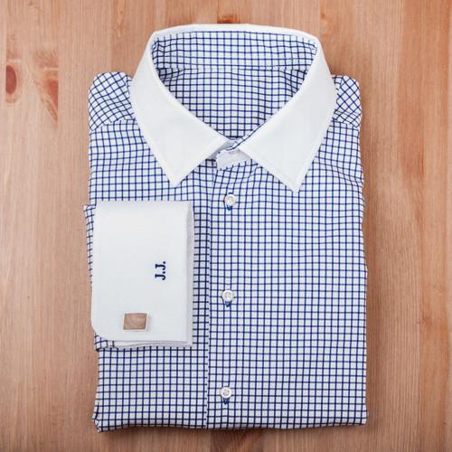 Košile Modrá kostka / konfekční