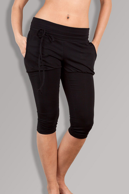 PUMP-LEG SHORT BLACK