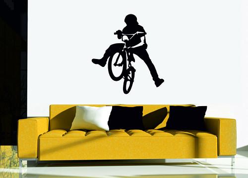 Samolepka na zeď - Freestyle
