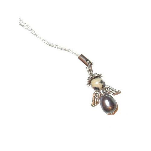 Kamenný andílek Perlička (doprodej)