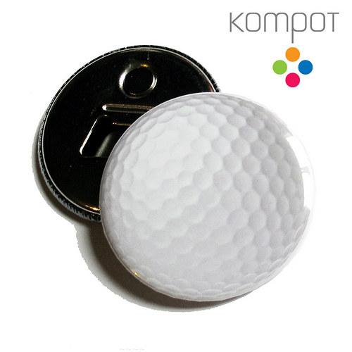 Otvírak s golfovým míčem
