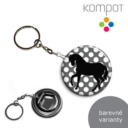 Klíčenka + otvírák :: Kůň (více variant)