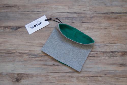Nákrčník šedý - zelený