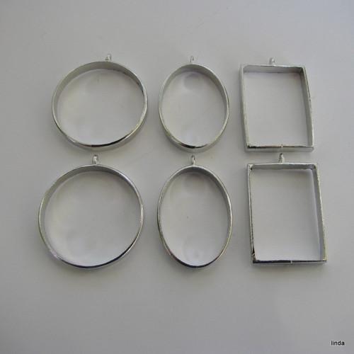 Lůžko  * zalévání pryskyřice * kruh * 1ks /bal