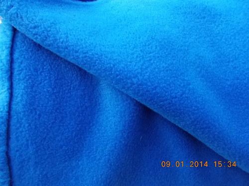 VÝPRODEJ   Fleece - královská modrá + různé barvy