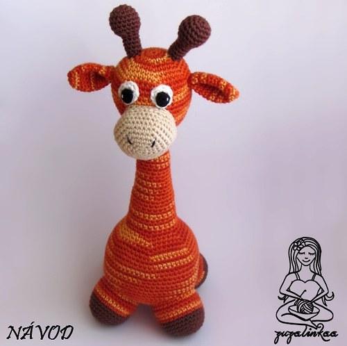 Návod - Žirafka II (postavička)
