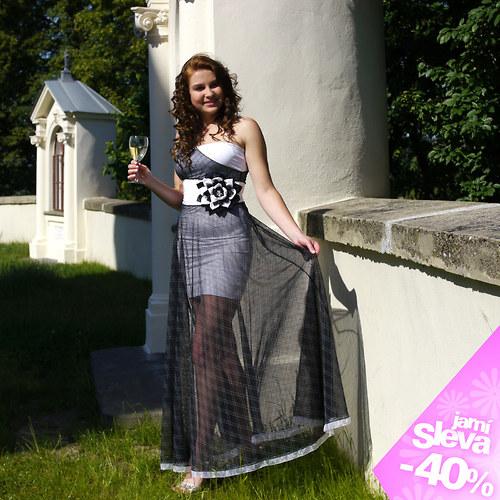 e983bda2a52d krásné společenské šaty vel. 36-38
