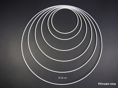 Kovový kruh na lapač snů 35 cm