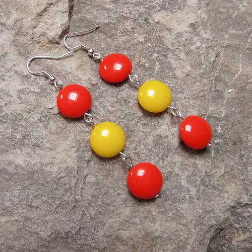 Červená a žlutá I.