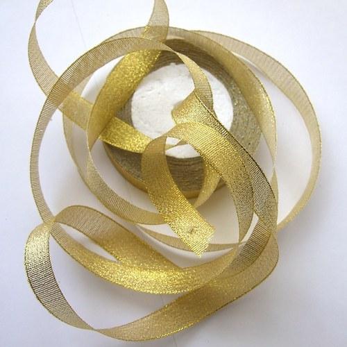 Stuha š. 1,5 cm; d. 20 m - zlatá