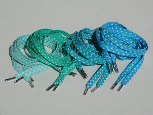 Tkaničky Od zelené k modré