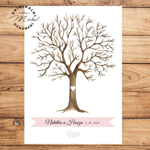 Svatební strom - A4 - TYP 1