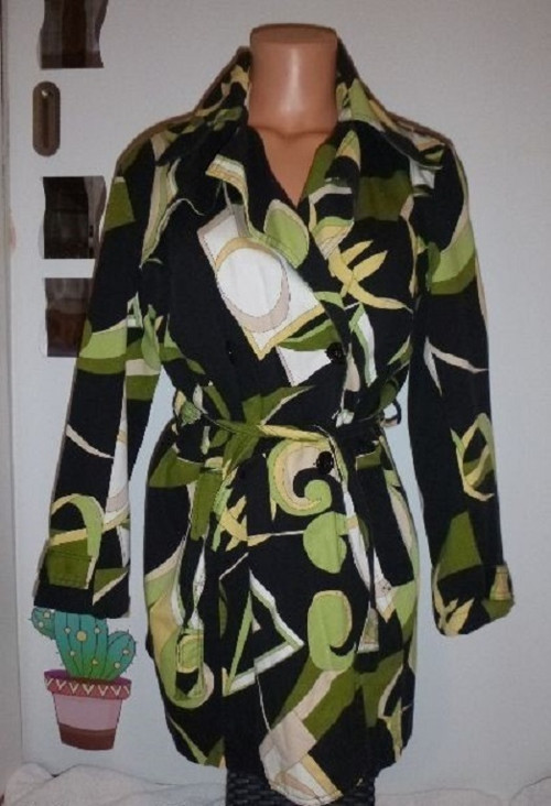 Kabátek na jaro-léto-podzim-vel.M-menší postava
