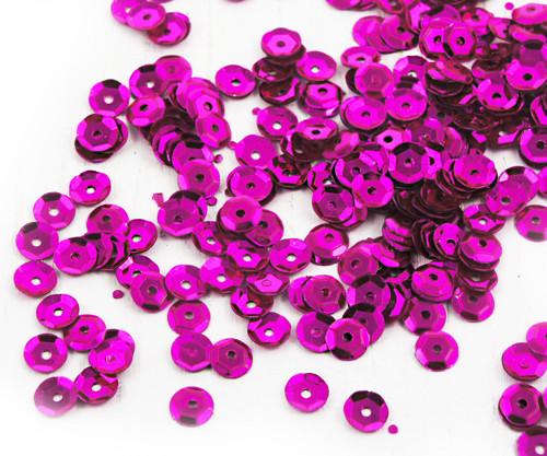 20g Metallic Fuchsia Růžové Šumivé Tváří Šálek Kul