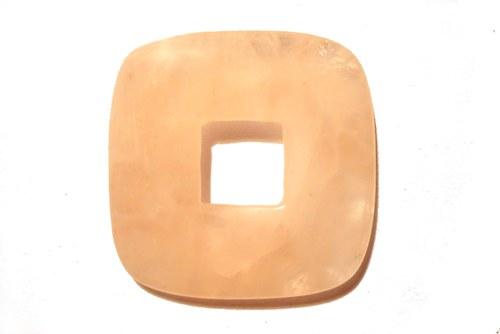 Donut 3,5 x 3,5 cm - růženín, č.33