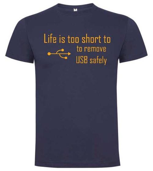 Tričko Life is too short