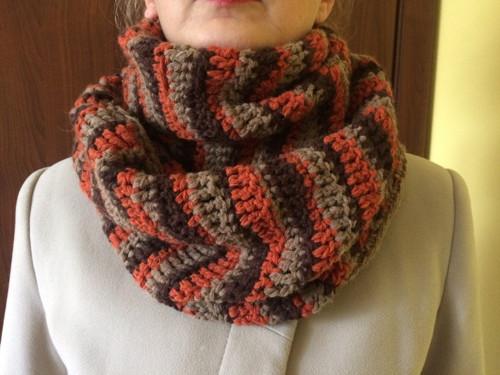 Ručně pletená šála