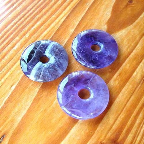 Donut z Ametystu - 3cm