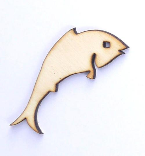 Ryba ze dřeva (obrys) - šíře 5 cm