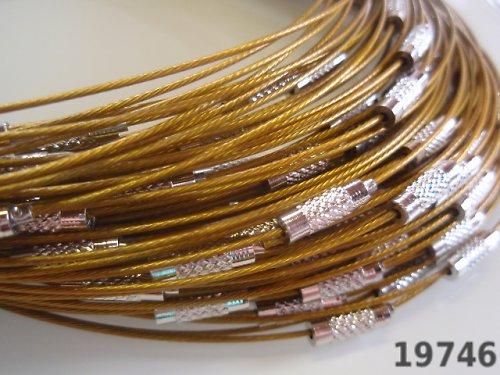 19746-b30 Lanko se šroubkem zlaté (žlutozlaté)