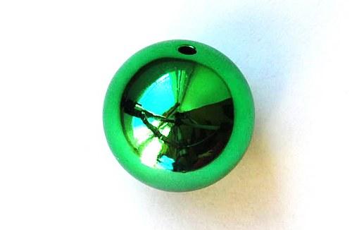 Kulička lesklá 20mm - zelená