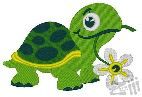 Nášivka hladová želva
