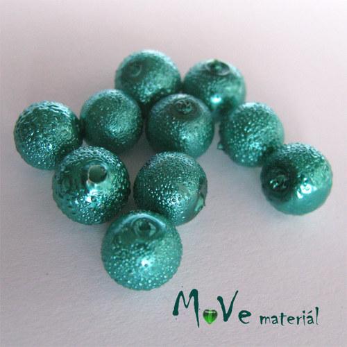 "Voskové perle \""Zigana\"" 8mm, 10ks, brčálová"