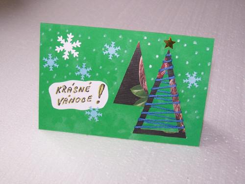 Vánoční přání Z - 2