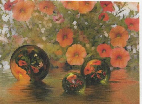 bavlněná látka - panel 15 x 20 cm