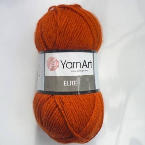 ELITE barva 847 oranžovo-hnědá