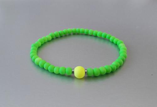 Náramek / Neon zelený /